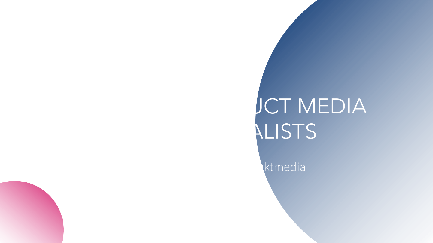 IDE House of Brands - product media specialists