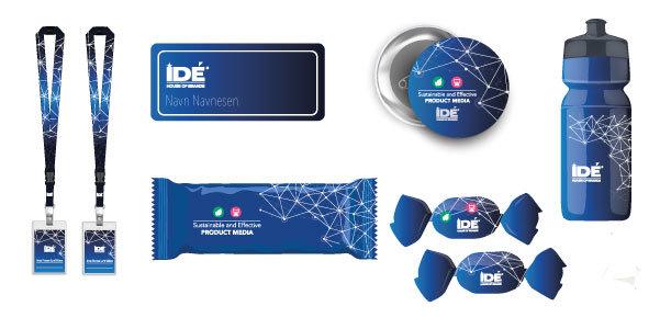 Merchandise med logo